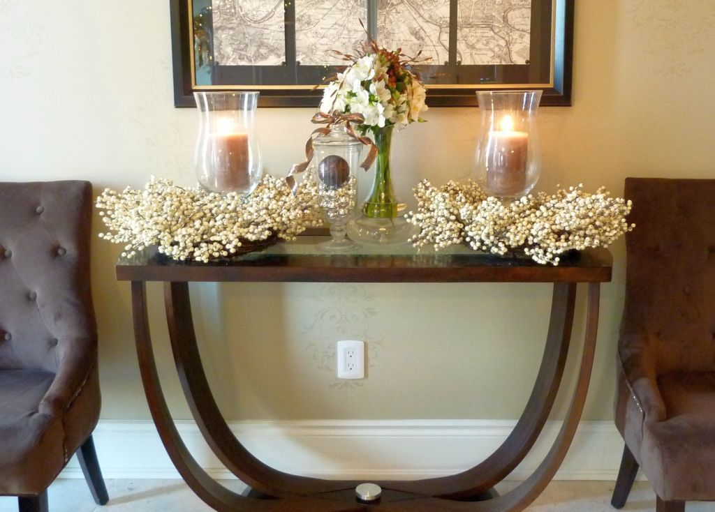 Farmhouse Foyer Table Decor : Gorgeous entryway entry table ideas designed with every style