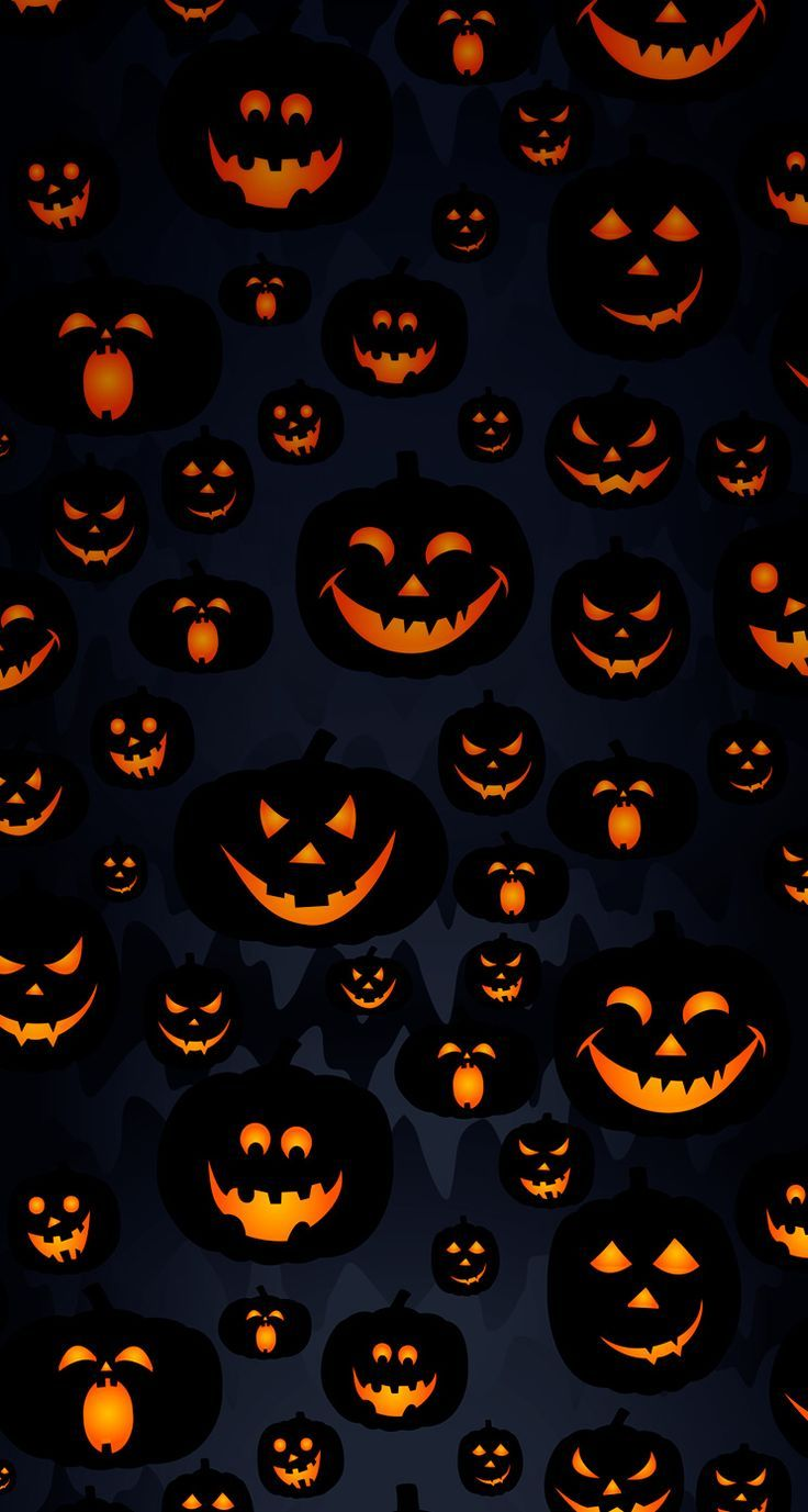 Wallpaper Iphone Happy Halloween Pattern Halloween Wallpaper Iphone Halloween Wallpaper Pumpkin Wallpaper