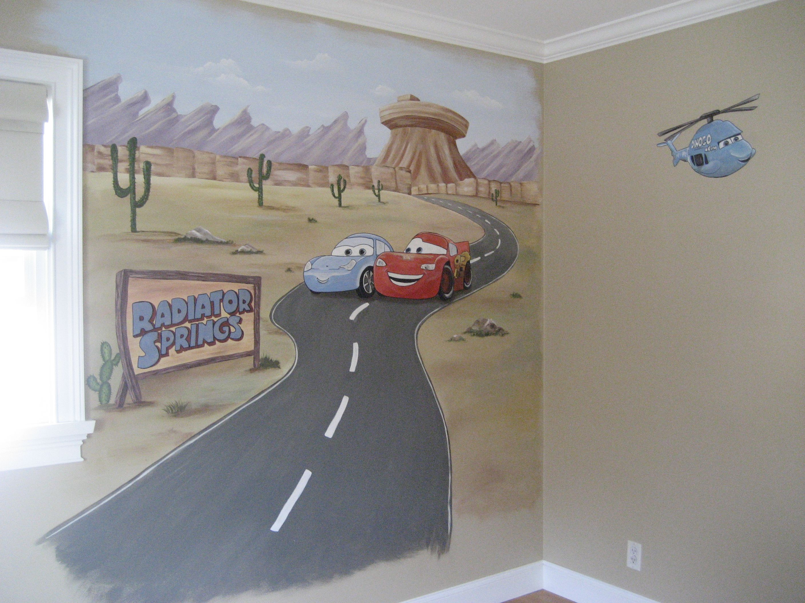 How To Paint A Wall Mural painted wall murals - google search | kamden room ideas