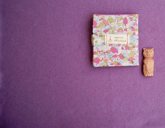 Rose Wallet Case Small / Pink Wallet / Vegan Holder / от RabbitLia