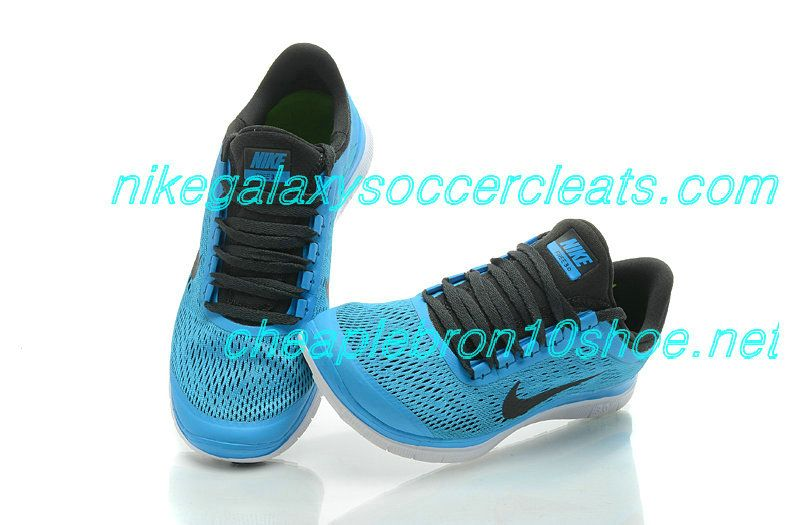 newest 16d2f 66fc7 Nike Free Run 3.0 V5 Shoes Cheap Sale For Mens Soar Blue Black 552393 404