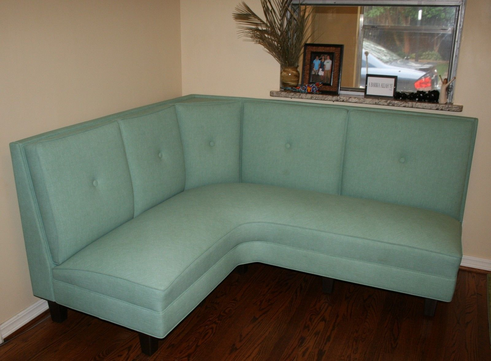 Custom Home Residential Wall Nook Corner Dining Booth Banquette USA Kitchen    EBay