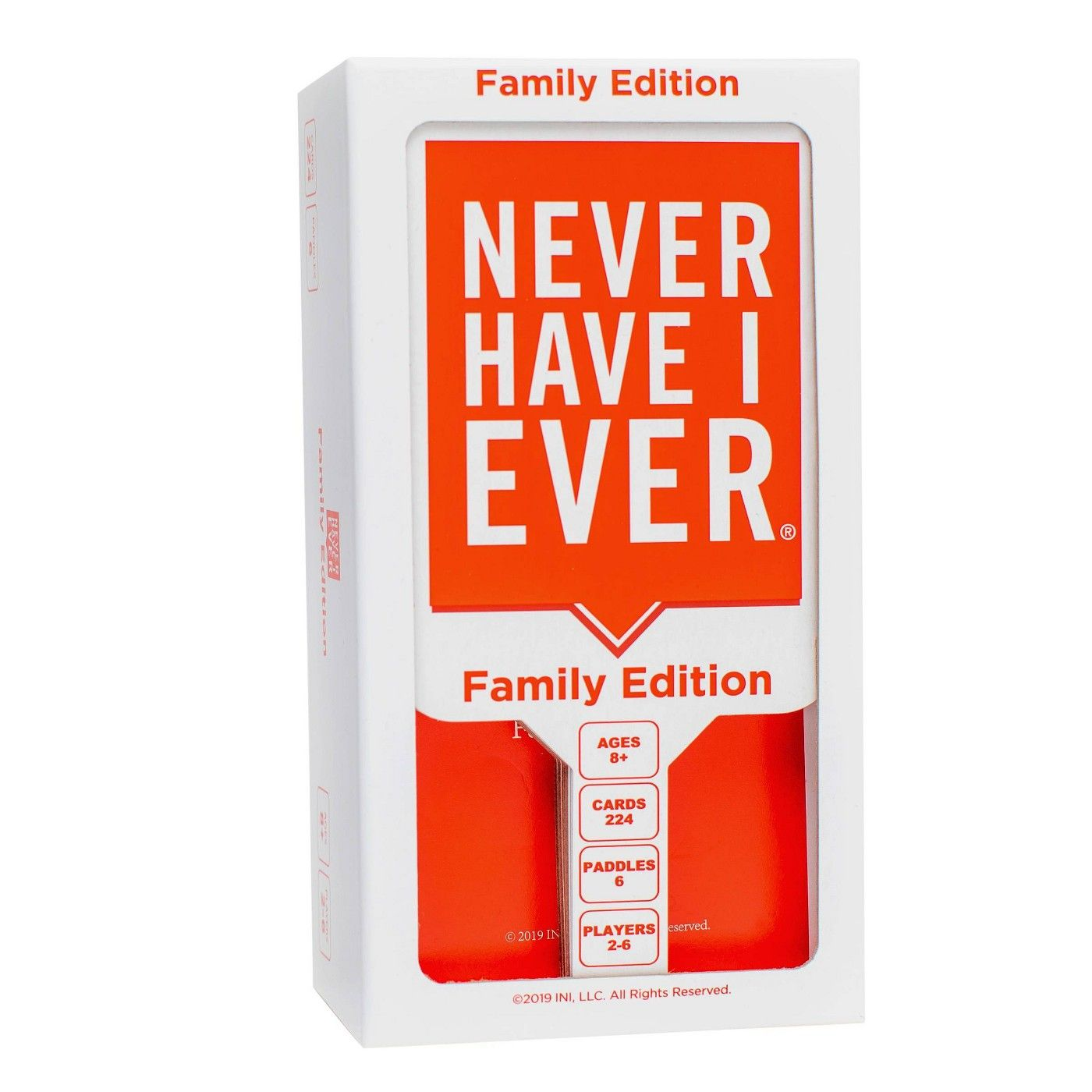 Never Have I Ever Family Edition Game Never have i ever