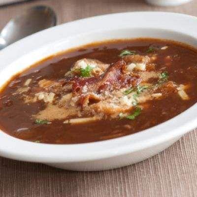 Crockpot Caramelized French Onion Soup