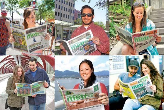 Metro is Canada's most-read weekday newspaper:  A diverse and young readership continues to contribute to Metro's success in cities across the country.  (Metro News 14 April 20160