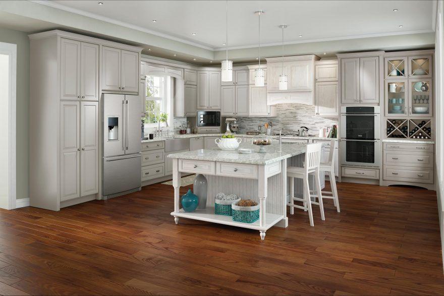 Dover | Medallion at Menards Cabinets | Menards kitchen ...