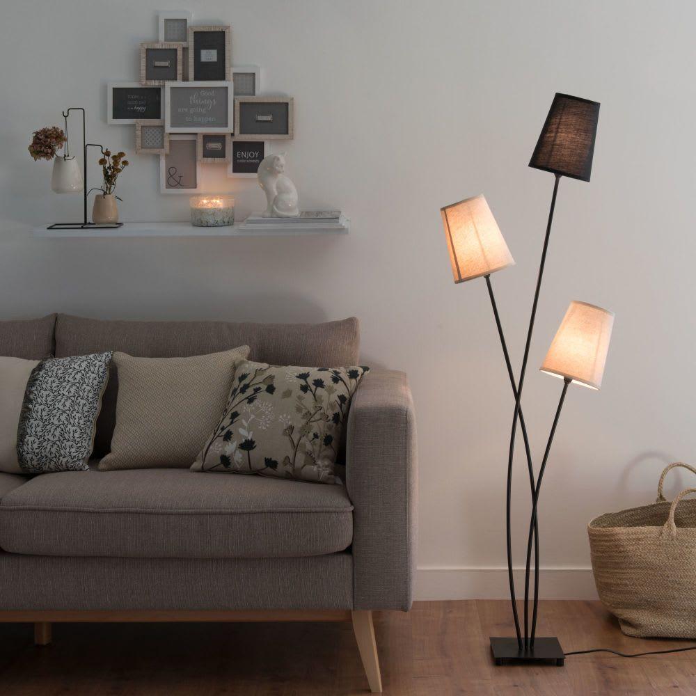 Stehlampen Und Leselampen Stehlampe Stehlampe Mit Schirm Und