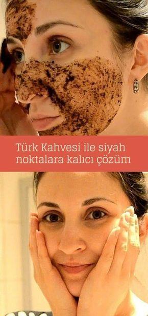 Siyah noktalar için Türk Kahvesi ve Zeytinyağı maskesi