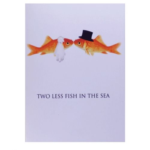 Two Less Fish In The Sea Koozie Bing Images