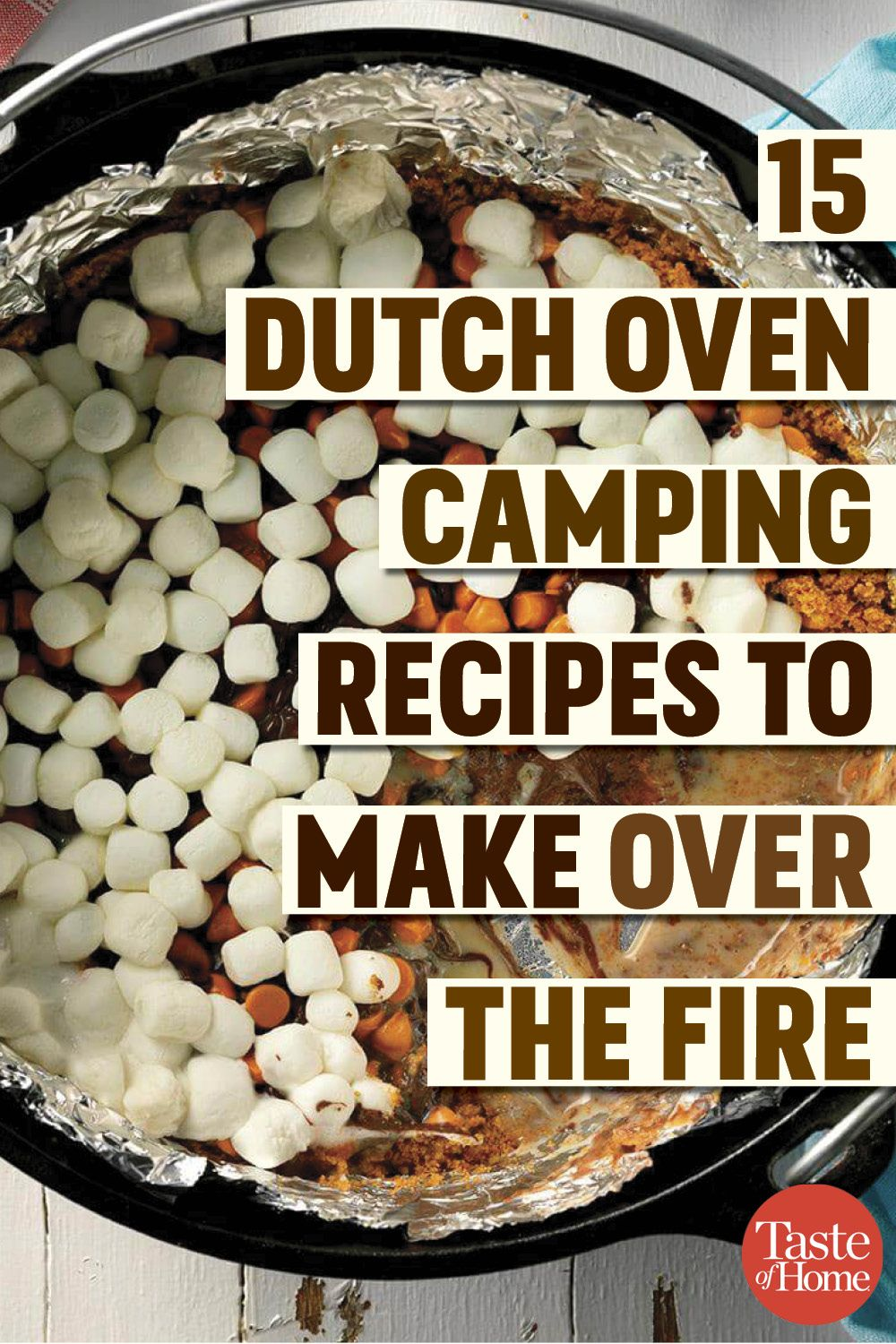 15 Dutch Oven Camping Recipes to Make Over the Fire is part of Dutch oven camping recipes - Camping out  Skip the grill and try these easy Dutch oven camping recipes  They're super satisfying and perfect for feeding a hungry crowd of campers