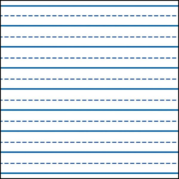 600 56 Kb Jpeg Printable Kindergarten Writing Paper Template - lined writing paper