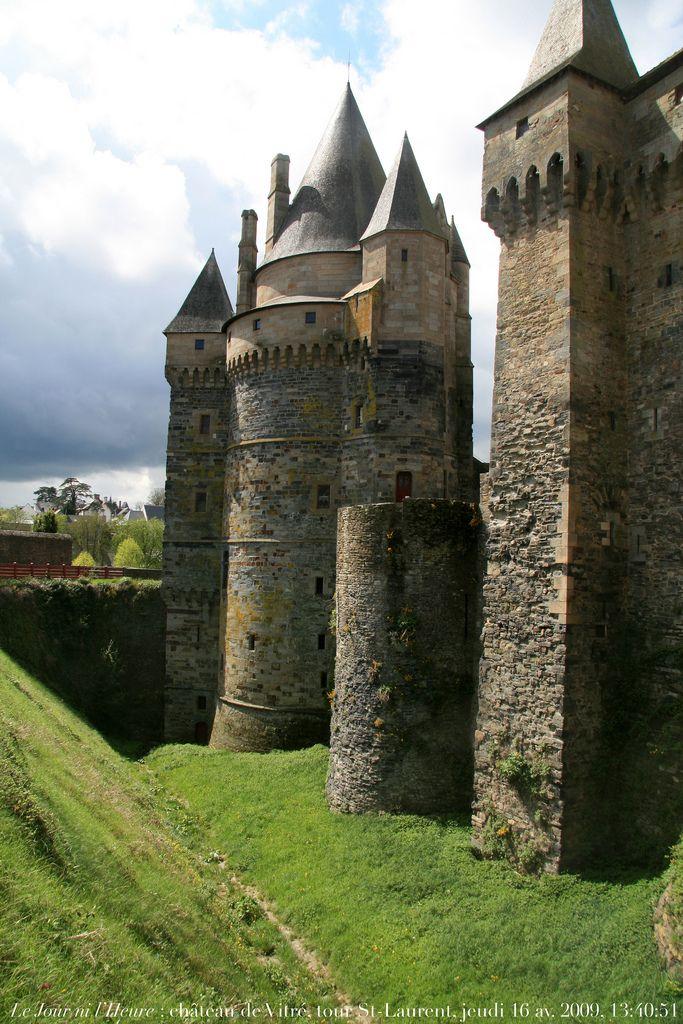Le Jour Ni L Heure Chateau De Vitre Tour Saint Laurent Ille
