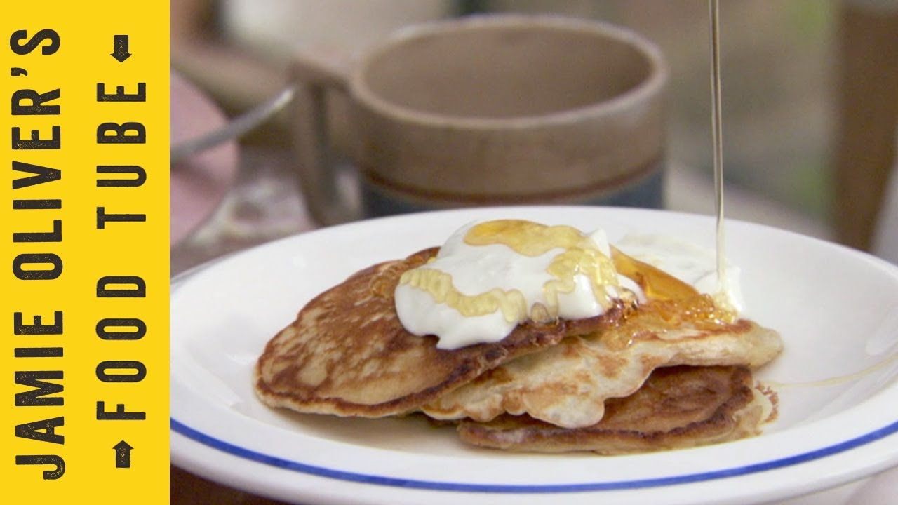 Ricotta Cake Recipe Jamie Oliver: Jamie Oliver's Super Easy Pancakes Featuring Poppy And