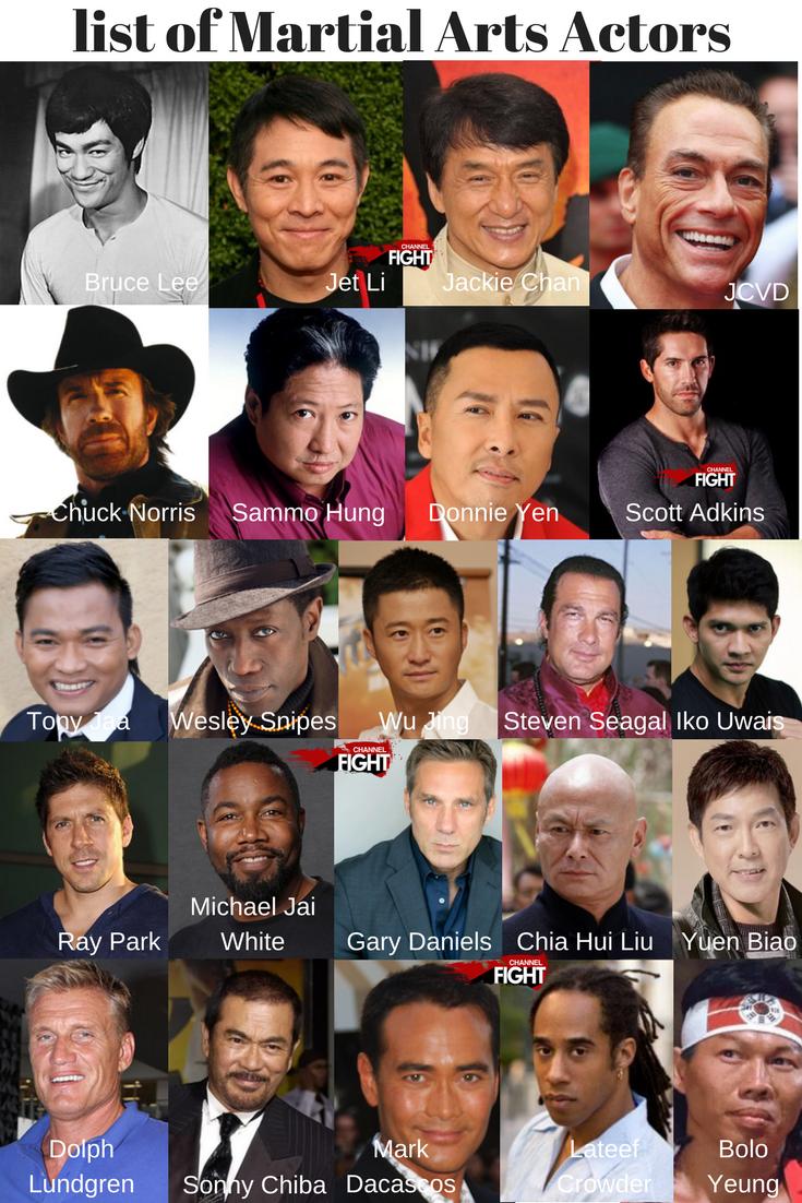 List Of Martial Arts Actors Martialarts Actors Martialartsactors Brucelee Jetli Jackiechan J Martial Arts Actor Bruce Lee Martial Arts Bruce Lee Photos