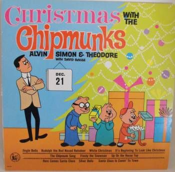 Chipmunks Christmas Album My Mom Played It Every Christmas And