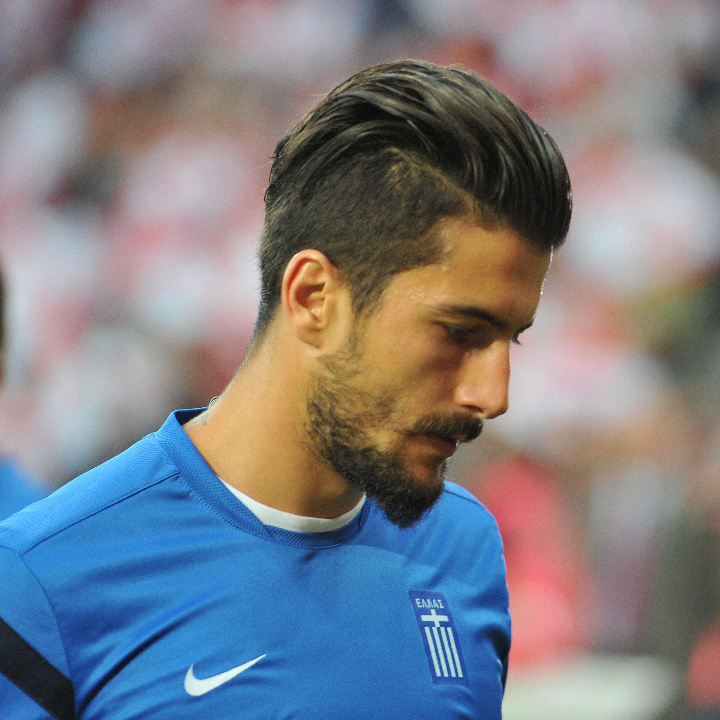 Panagiotis Kone Google Zoeken Soccer Player Hairstyles Soccer Players Haircuts Mens Haircuts Short