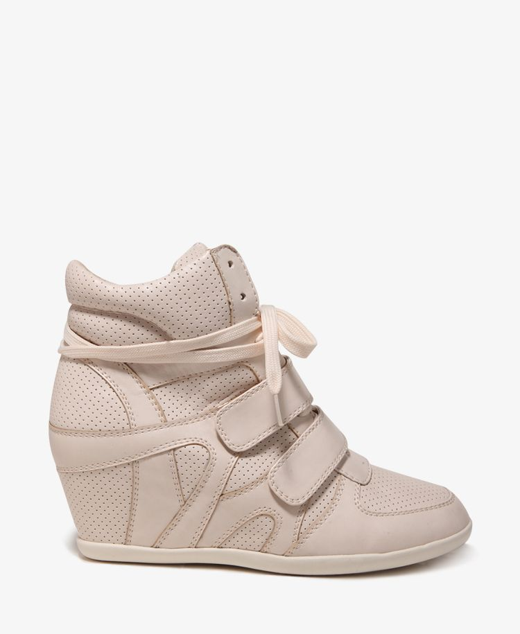 Perforated Wedge Sneakers- i want this! http   www.forever21. ab91305f5