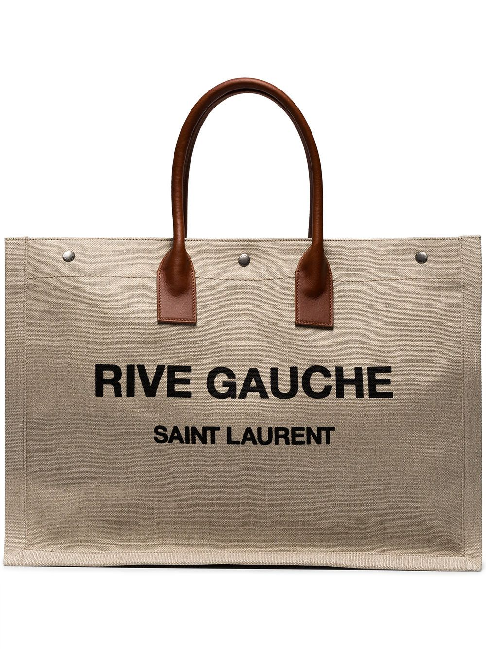 387b8db0f225 SAINT LAURENT Rive Gauche Large Noe Tote.  saintlaurent  bags  leather   hand bags  canvas  tote