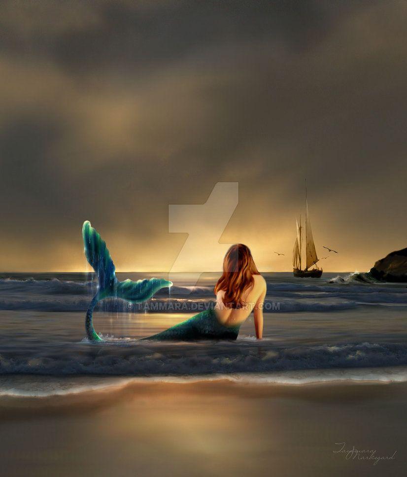 Enchanted Song By Tammara On Deviantart Mermaids Surfaced