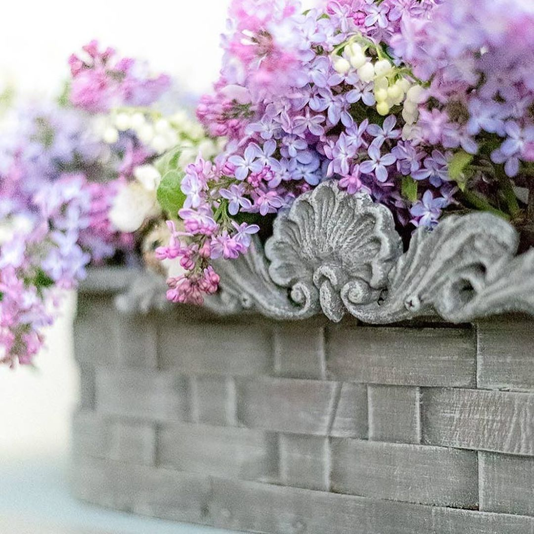 """Salvaged Inspirations #siblog on Instagram: """"If I could share these lilacs and apple blossoms with you – I would!  We could all use a little extra kindness with what's been going on in…"""""""