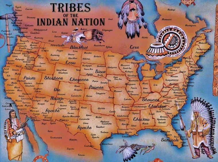 lewis and clark native american tribes map - Google Search