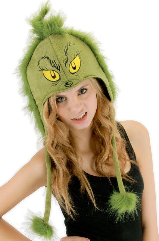 Dr Seuss Grinch Hoodie Hat Dr seuss grinch, Grinch and Halloween - dr seuss halloween costume ideas