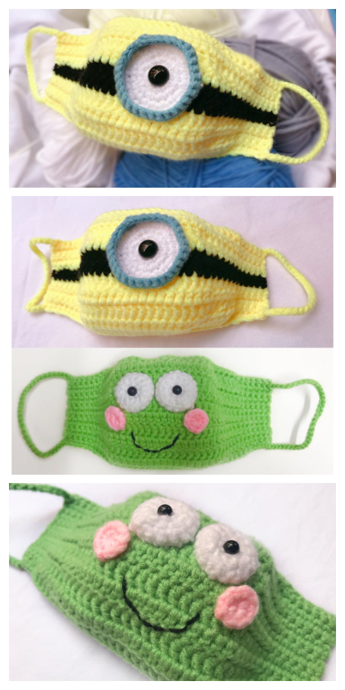 Photo of Minion and Frog Mask Crochet Patterns + Video – DIY Magazine