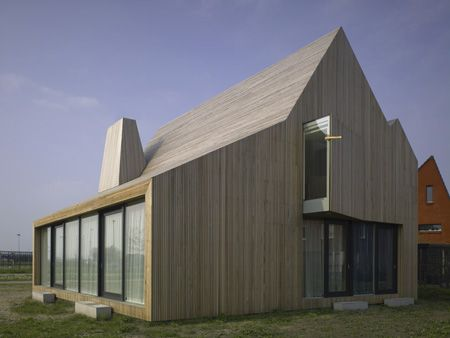 Wood Home Design In Netherlands   Fascinating Countryside Architecture!