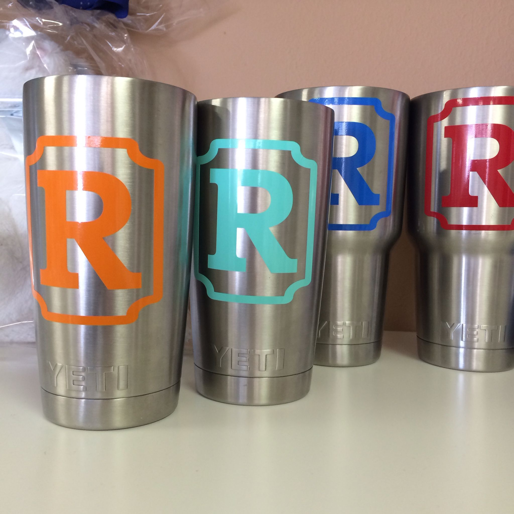 Monogrammed Yeti Cups Men Decals For Yeti Cups