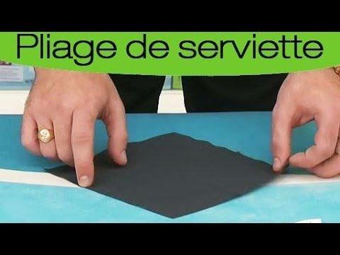 pliage de serviette en forme de chemise et de cravate youtube decorations pinterest. Black Bedroom Furniture Sets. Home Design Ideas