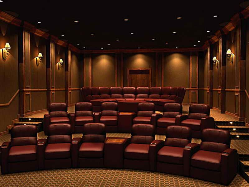home theater room design - Home Theatre Designs
