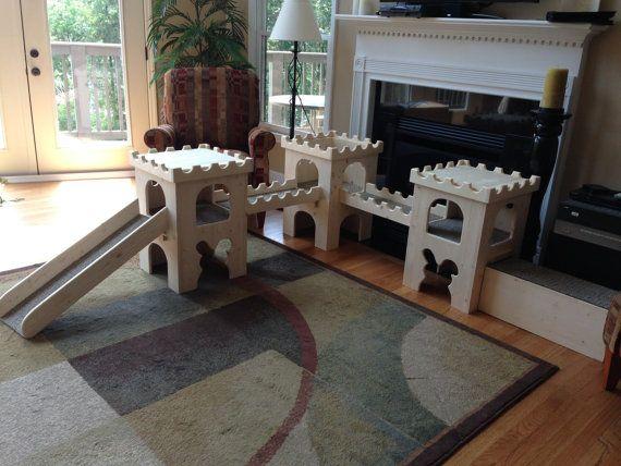die besten 25 kaninchen spielplatz ideen auf pinterest kaninchen spielzeug h lzener. Black Bedroom Furniture Sets. Home Design Ideas