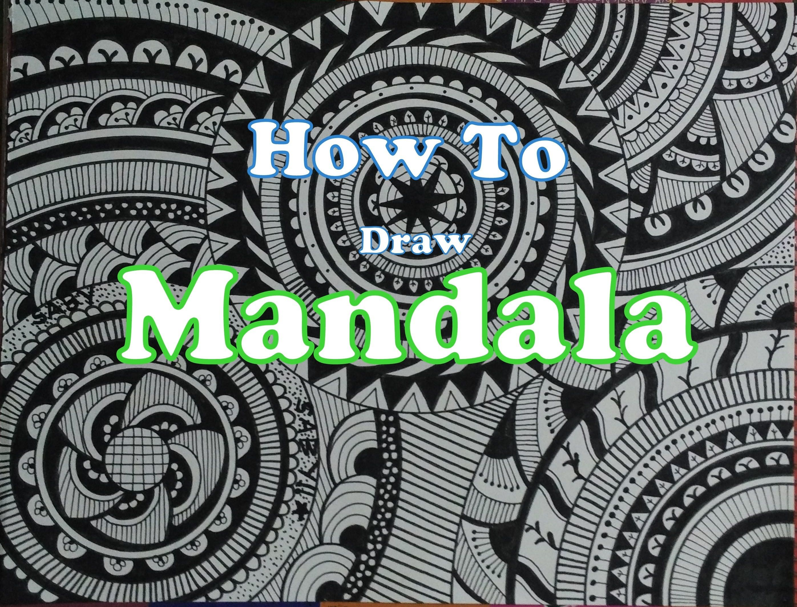 Art Designs How To Draw Complex Mandala Art Design For Beginners Easy