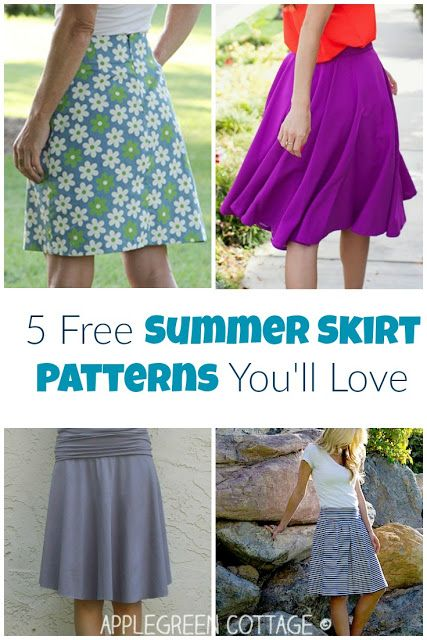 5 Free Summer Skirt Patterns Youll Love In 2018 Applegreen