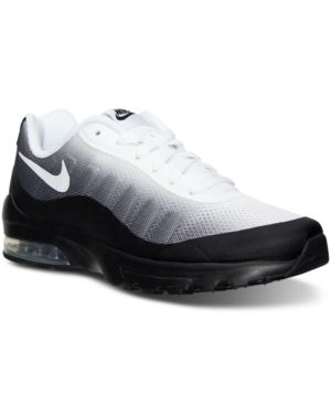 newest collection 4de62 b1576 Nike Men s Air Max Invigor Print Running Sneakers from Finish Line - Black  10.5