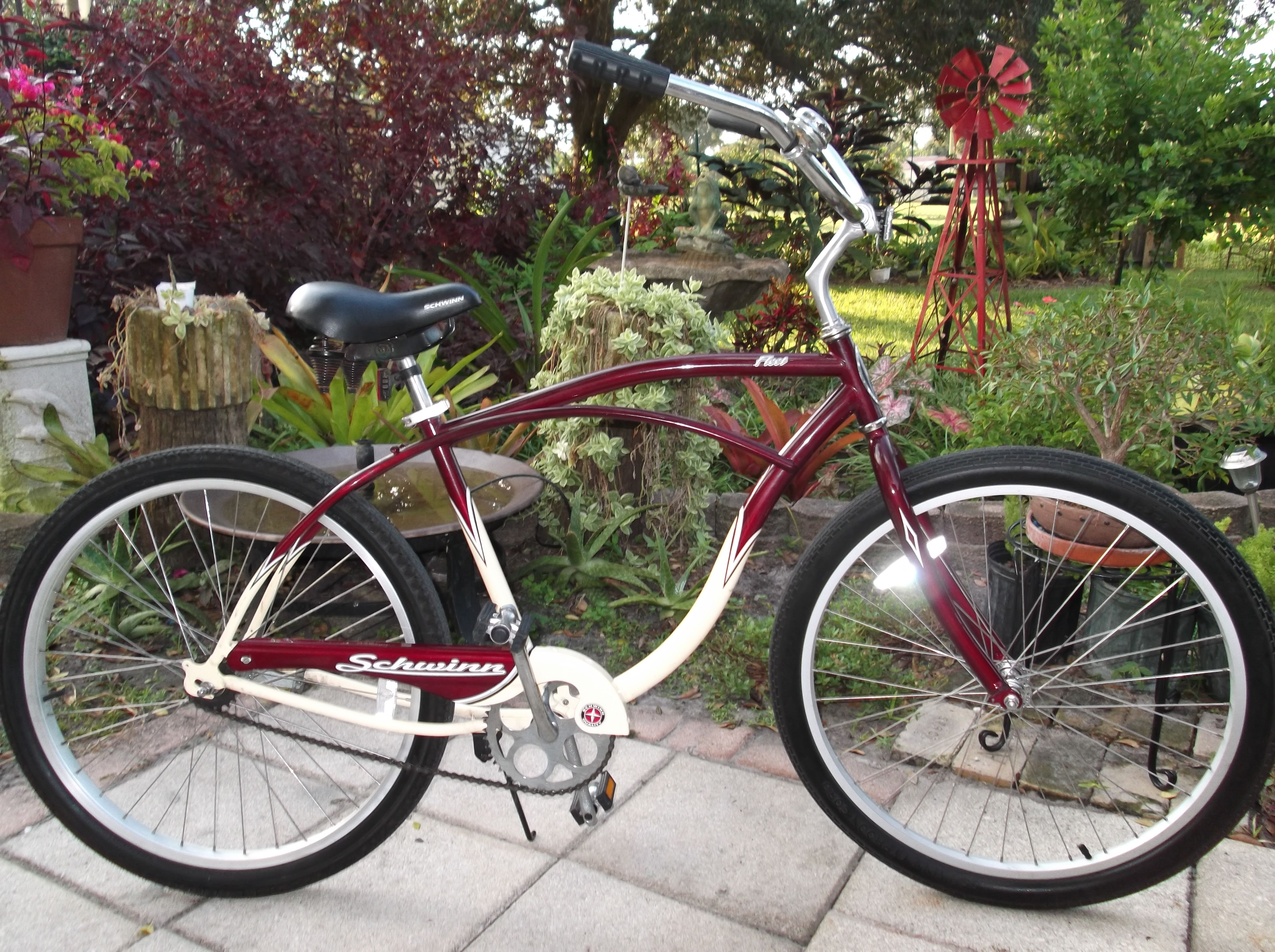 Schwinn Fleet Vans Custom Cruisers Beach Cruiser Bikes Bike