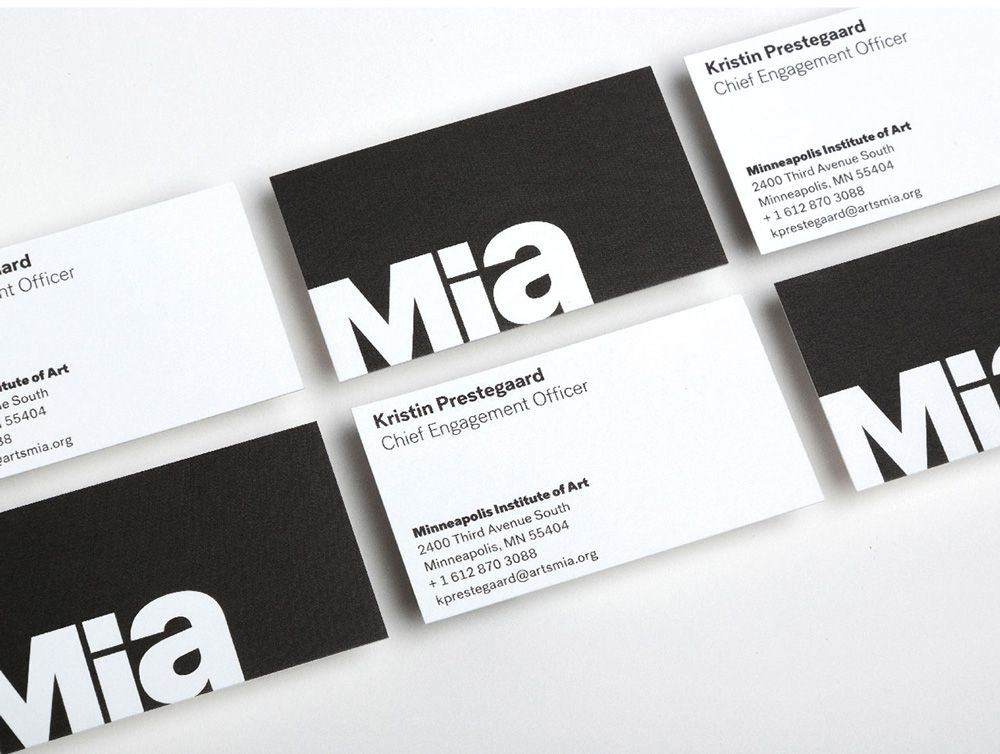 New Name, Logo, and Identity for Mia by Pentagram | Logo | Pinterest ...