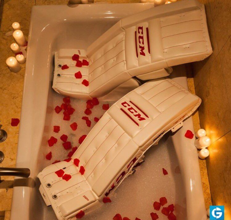 For that girl goalie in your life...on Valentine's Day