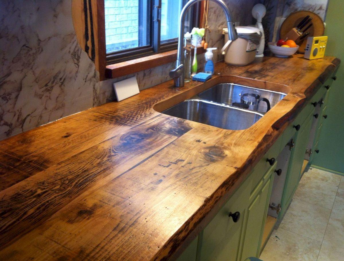 90 Rustic Kitchen Cabinets Farmhouse Style Ideas 38