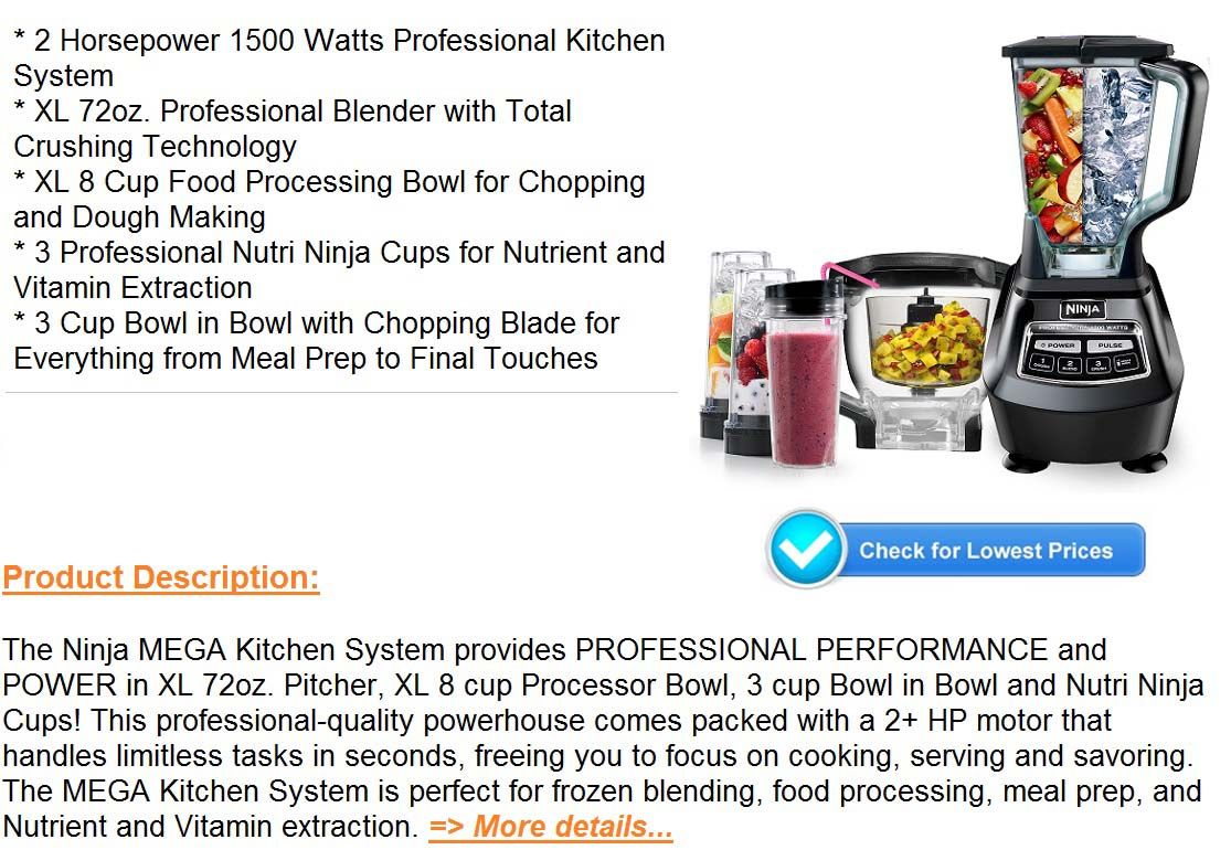 Pin on Cheap Ninja Mega Kitchen System Blender Ice Cream Recipe