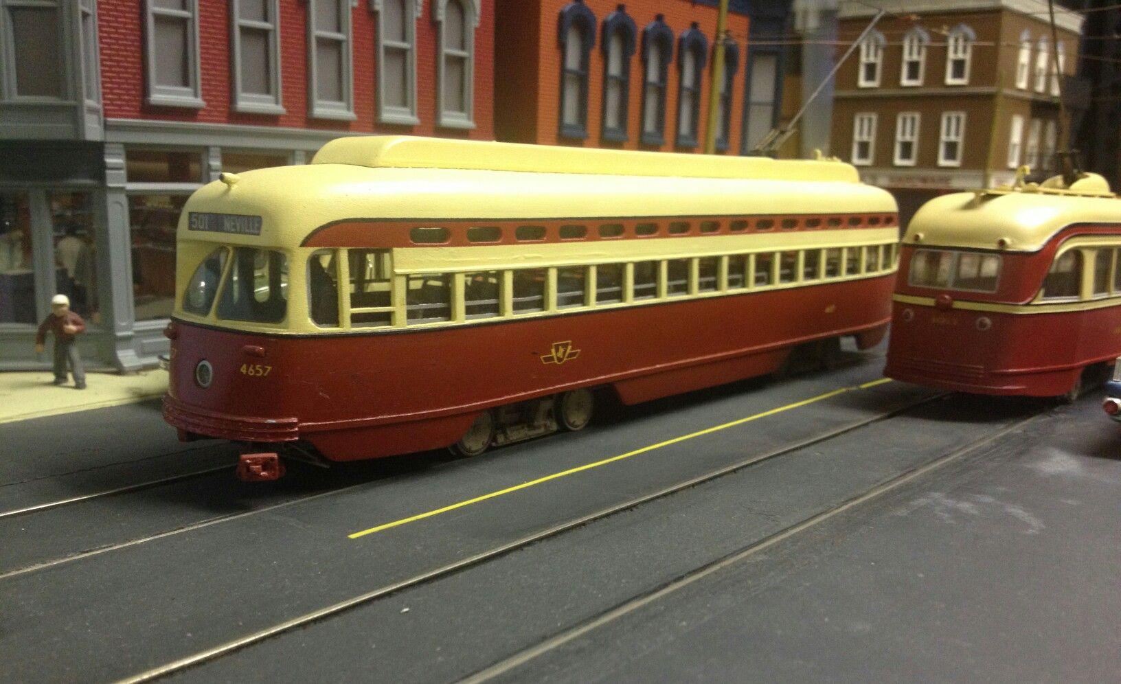 TTC 4657 O Scale PCC | Toronto Transit Models | Pinterest ...