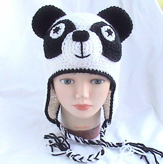 Crochet Panda Hat Promotion-Shop for Promotional Crochet Panda Hat ...