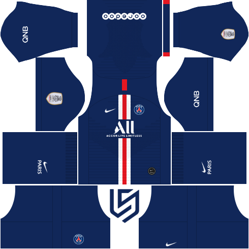 Psg Kit 19 2020 Dream League Soccer 2019 Psg Uefa Champions League Soccer Kits