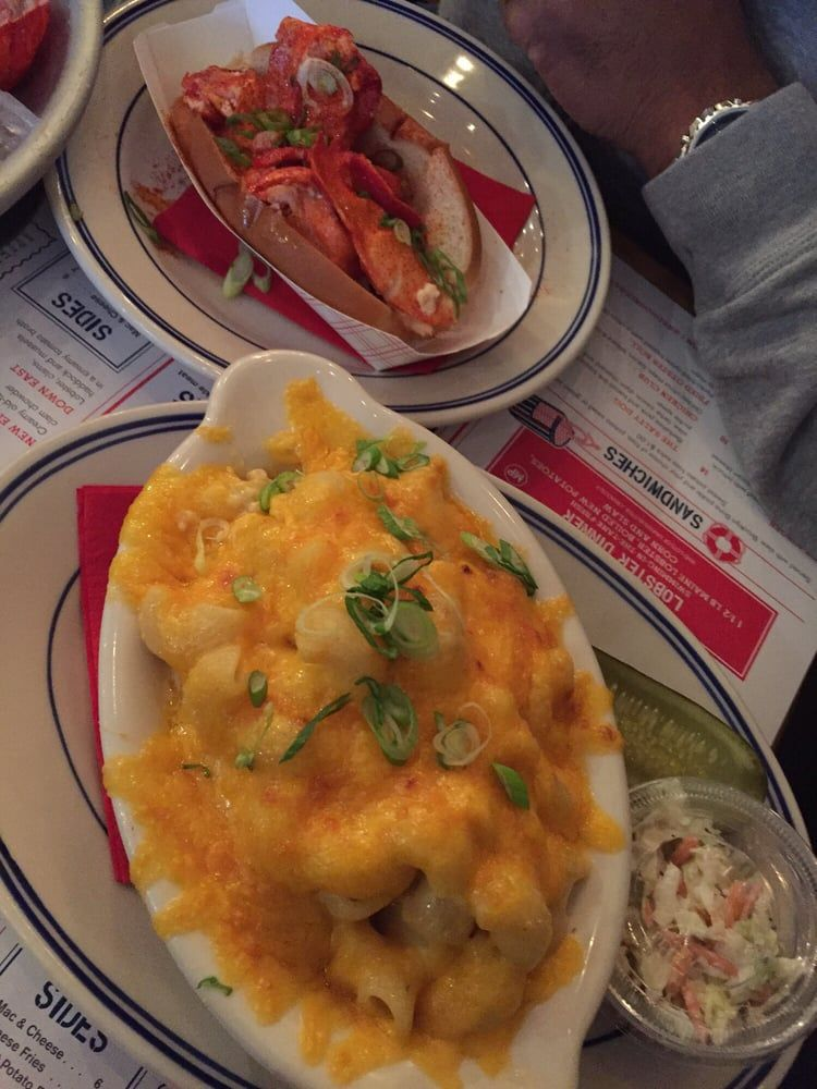 Photo of Red Hook Lobster Pound - Brooklyn, NY, United States. Lobster mac and cheese and lobster roll
