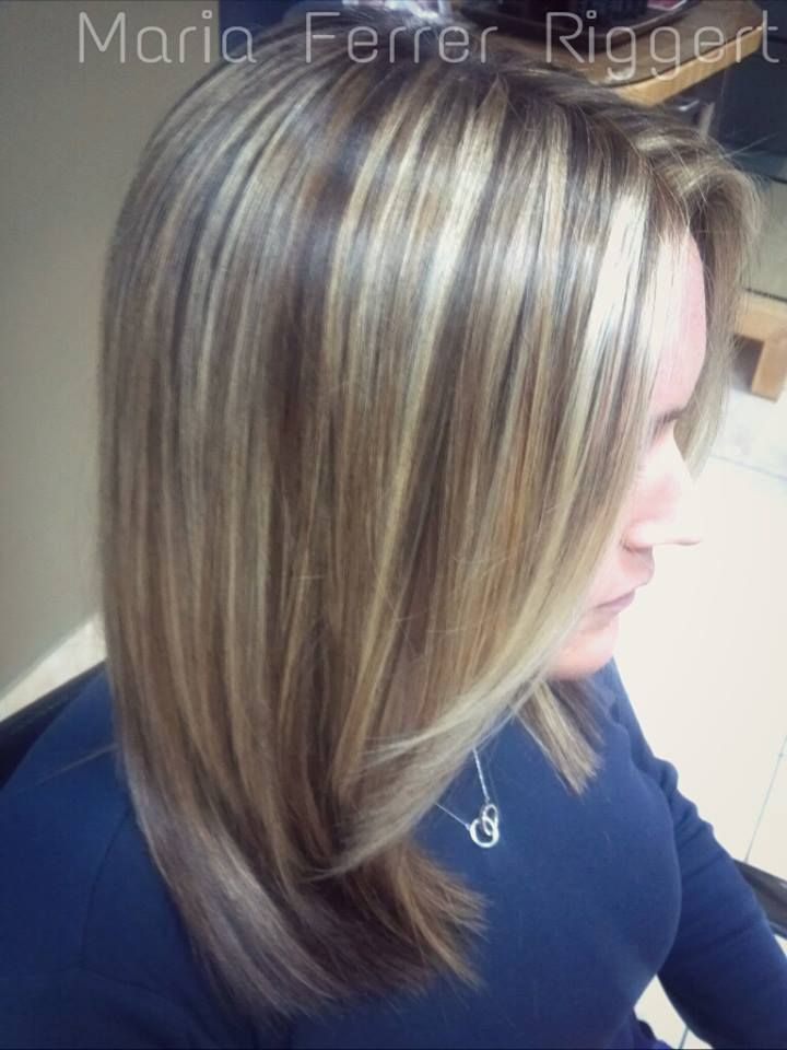 Maria Ferrer Riggert Master Hair Stylist Tri Color Dimension