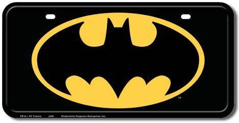 Decorative License Plate | Batman Car Interior Accessories  sc 1 st  Pinterest & Decorative License Plate | Batman Car Interior Accessories | if I ...