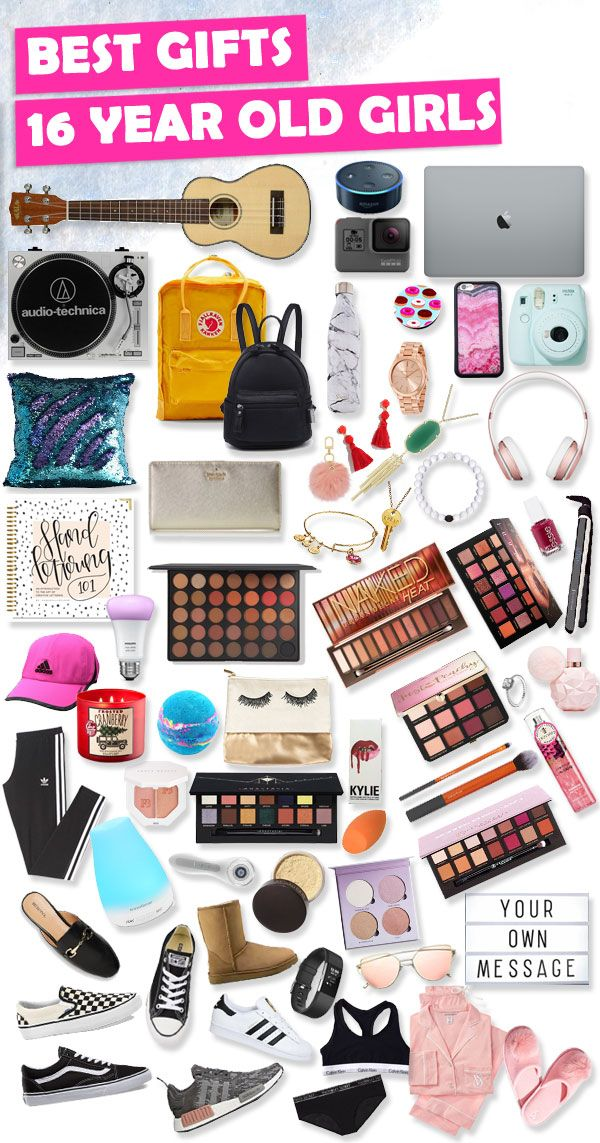 Tons of great gifts for 16 year old girls. - Sweet 16 Gift Ideas For 16 Year Old Girls LOVE IT Gifts