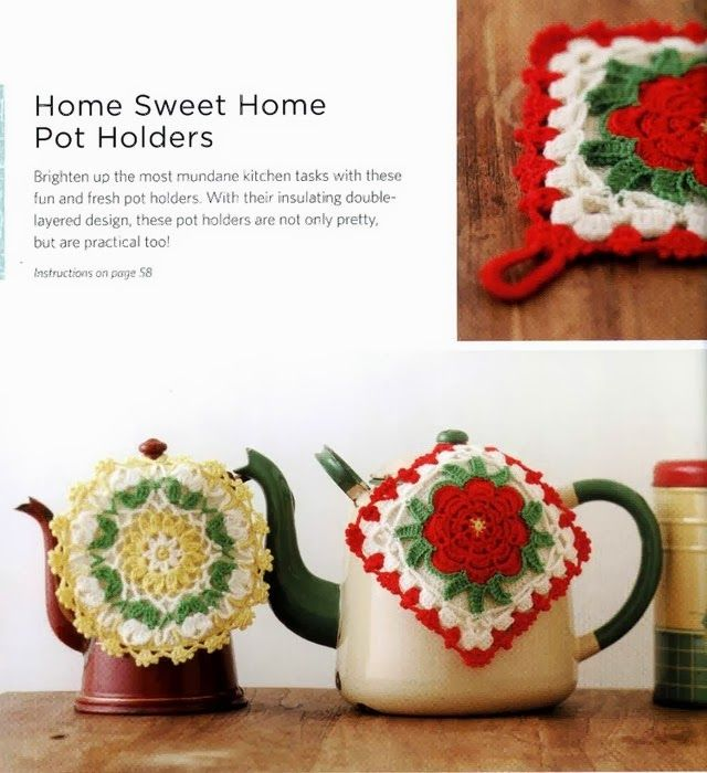 Crochet Pot Holders | cosina | Pinterest