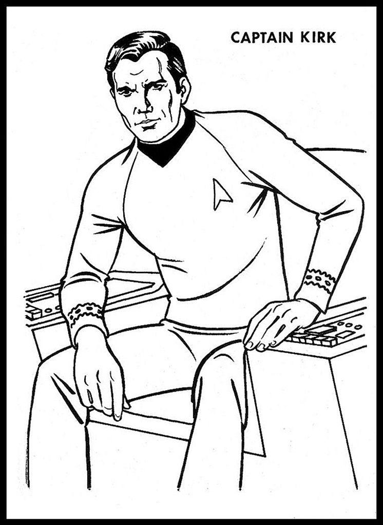 Star Trek Coloring Book | Channel Surfing | Pinterest | Star trek ...
