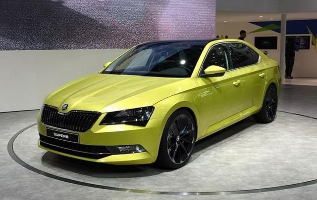 The New Skoda Superb Skoda Superb Skoda Skoda Auto